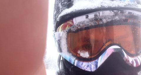 Snowboarding in Lake Louise