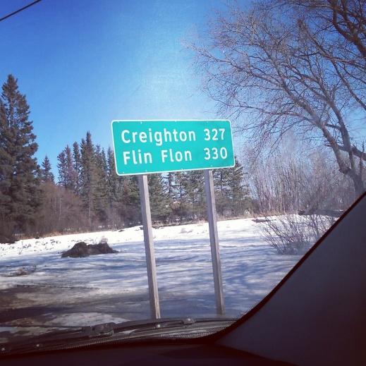 Flin Flon, MB is a little more than 5 hours from Saskatoon.